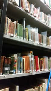 Cookbooks in the museum's store